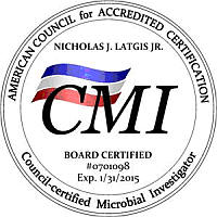 CMI - Council-certified Microbial Investigator